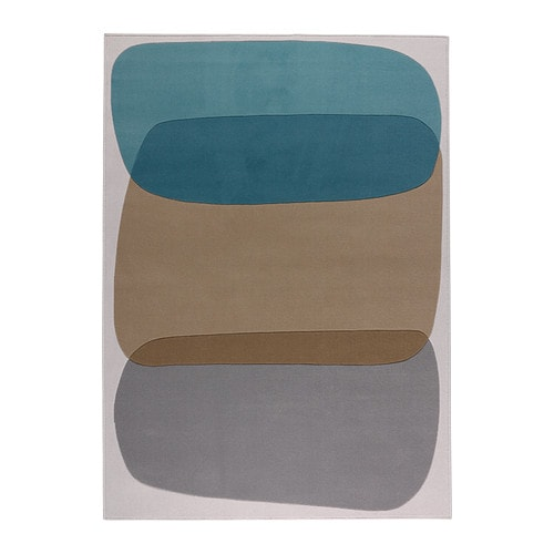 MALIN FIGUR Rug, low pile   Its dense, thick pile creates a soft surface for your feet and also dampens sound.