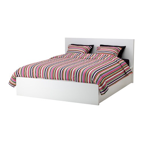 contour de lit ikea brusali bed frame with storage boxes. Black Bedroom Furniture Sets. Home Design Ideas