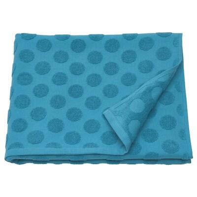 "MÅLSELVA Bath towel, blue, 28x55 """