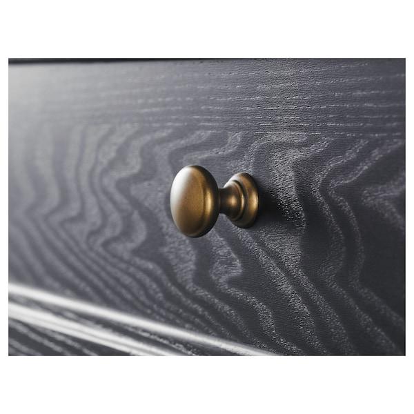 "MALSJÖ Sideboard, black stained, 57 1/8x36 1/4 """