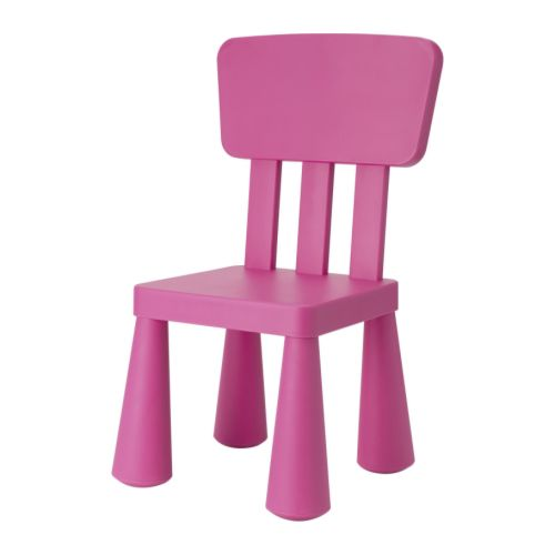 Mammut children s chair made of durable plastic that is easy to clean