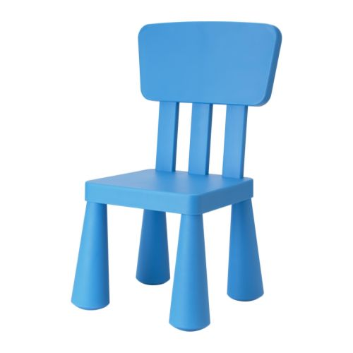 MAMMUT Children's chair   Plastic, durable and easy to clean.