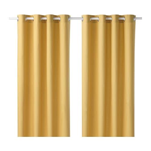 MARIAM Curtains, 1 Pair