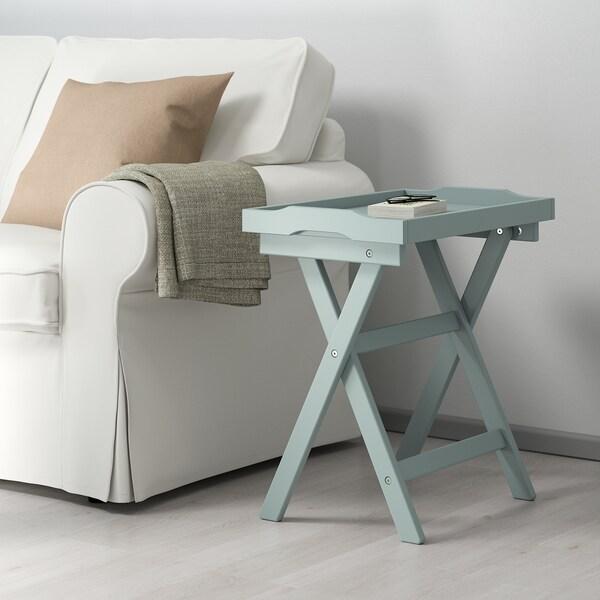"""MARYD Tray table, green, 22 7/8x15x22 7/8 """""""