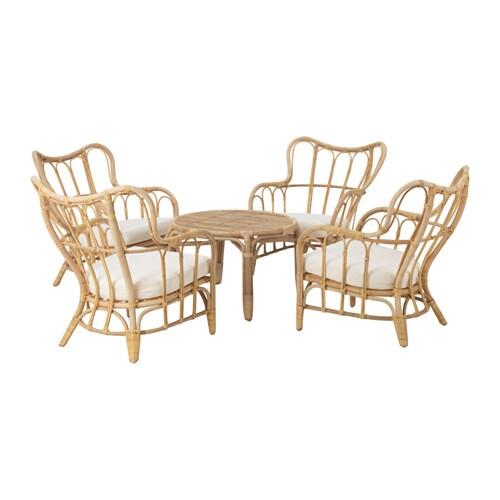 mastholmen 4 seat conversation set outdoor ikea. Black Bedroom Furniture Sets. Home Design Ideas
