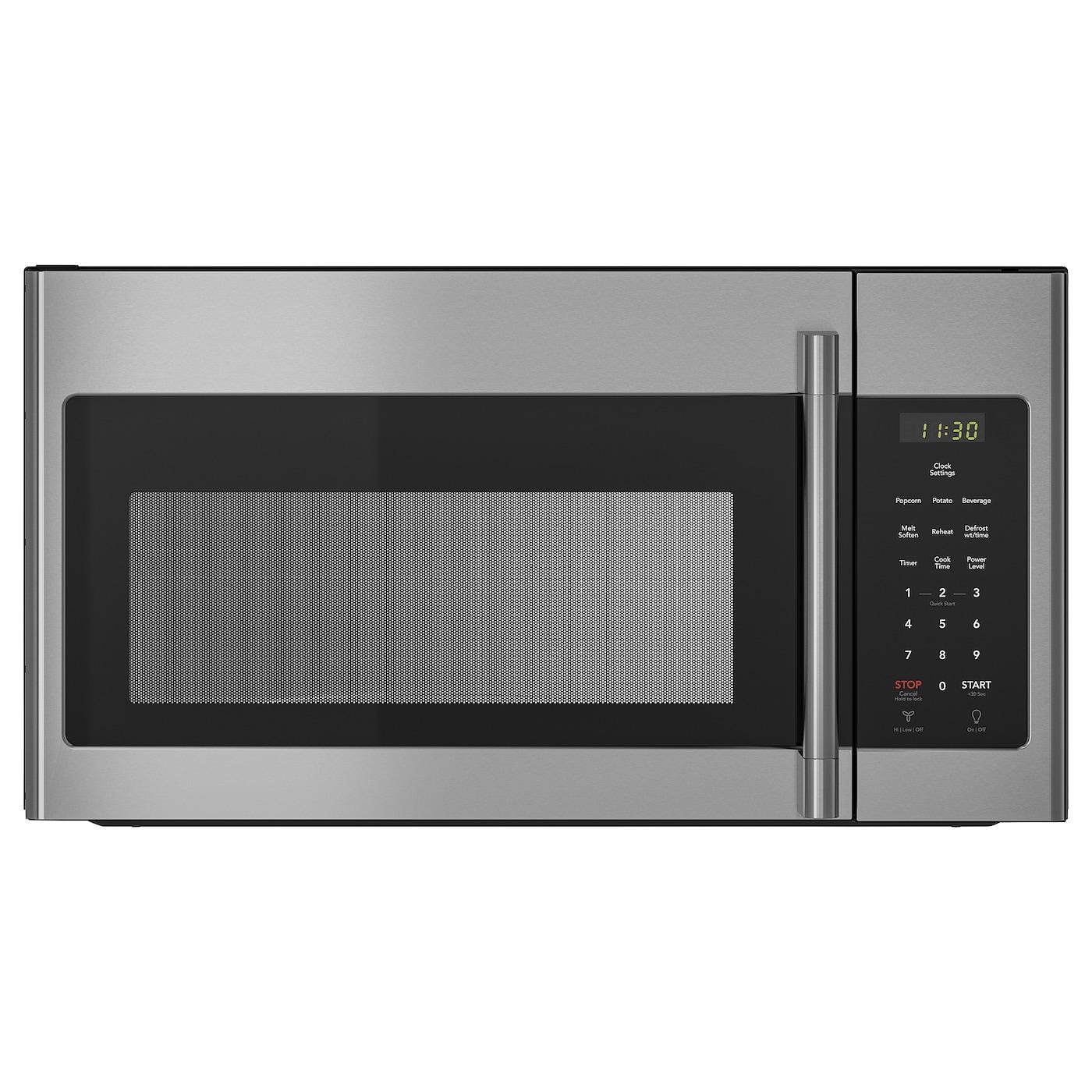 Range Microwave Stainless Steel