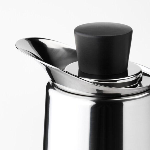 METALLISK Vacuum flask, stainless steel, 41 oz