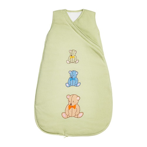 MINIBJÖRN One piece sleeper   Practical to bring along to create a cozy, familiar environment for your baby.