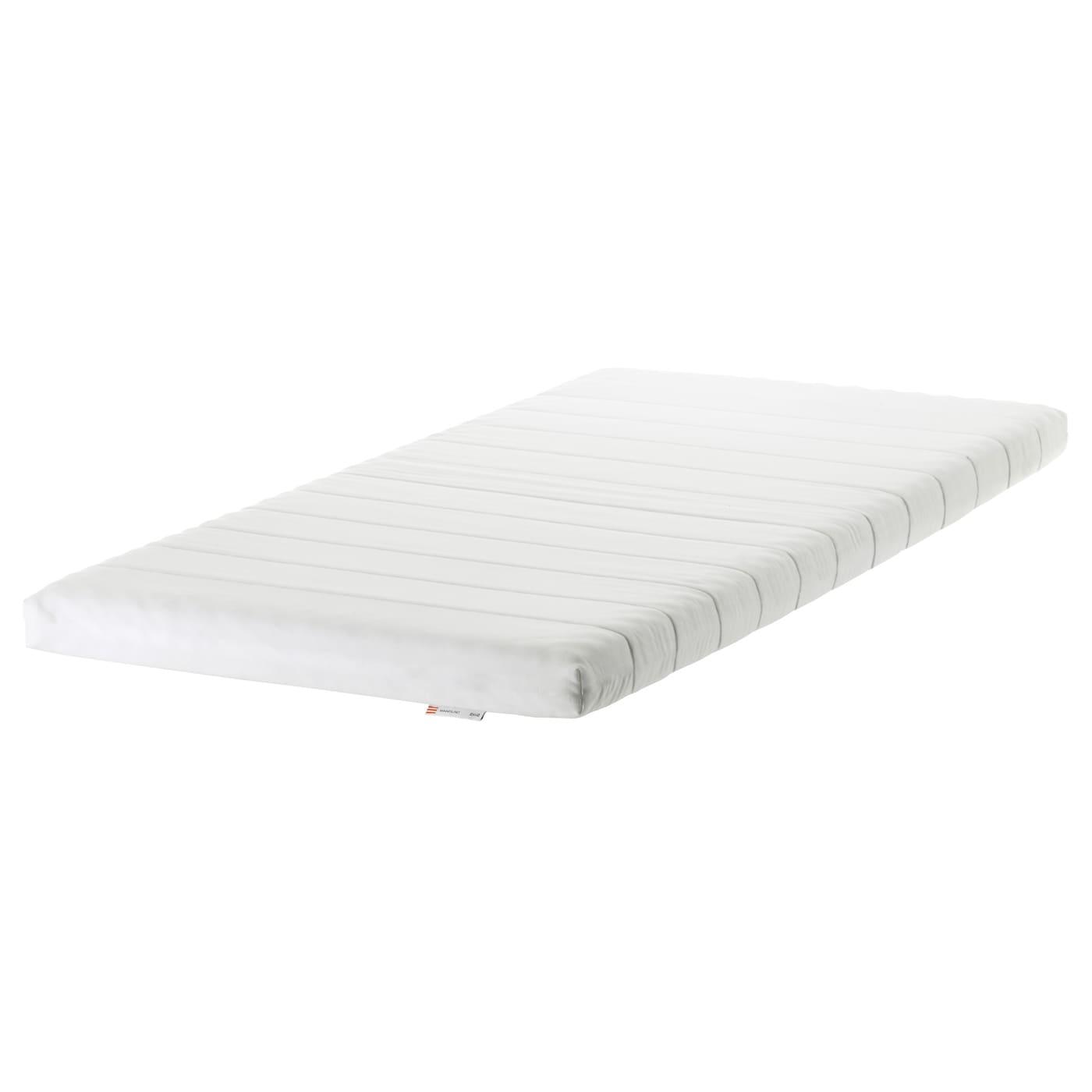 Minnesund Foam Mattress Firm White Ikea