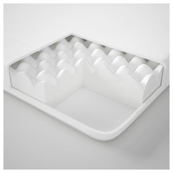 MINNESUND Foam mattress, firm/white, Queen