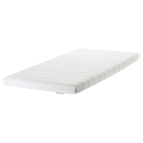 "MINNESUND foam mattress firm/white 74 3/8 "" 38 1/4 "" 3 7/8 """