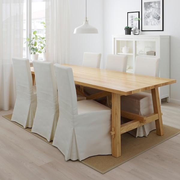 """MÖCKELBY table oak 92 1/2 """" 39 3/8 """" 29 1/8 """""""