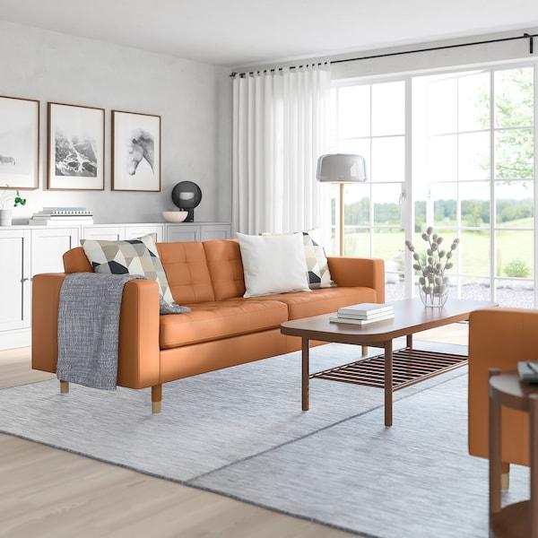 MORABO Sofa, Grann/Bomstad golden brown/wood