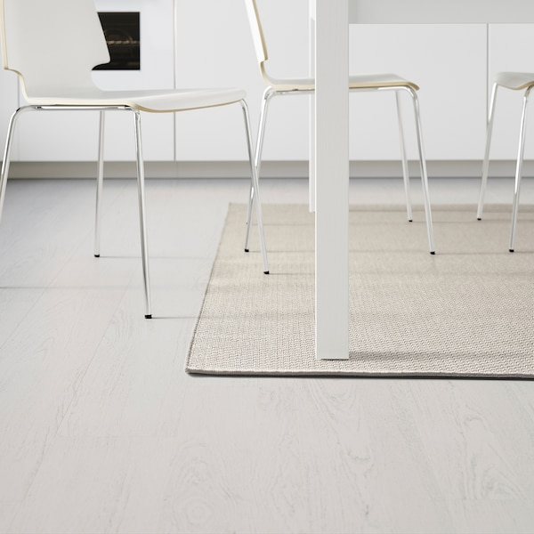 "MORUM Rug flatwoven, in/outdoor, beige, 5 ' 3 ""x7 ' 7 """