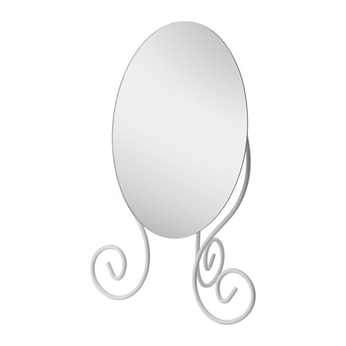 Myken table mirror ikea for Miroir karmsund