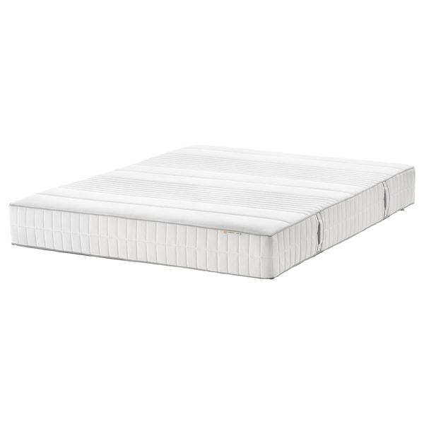 MYRBACKA Foam mattress, plush/white, Queen