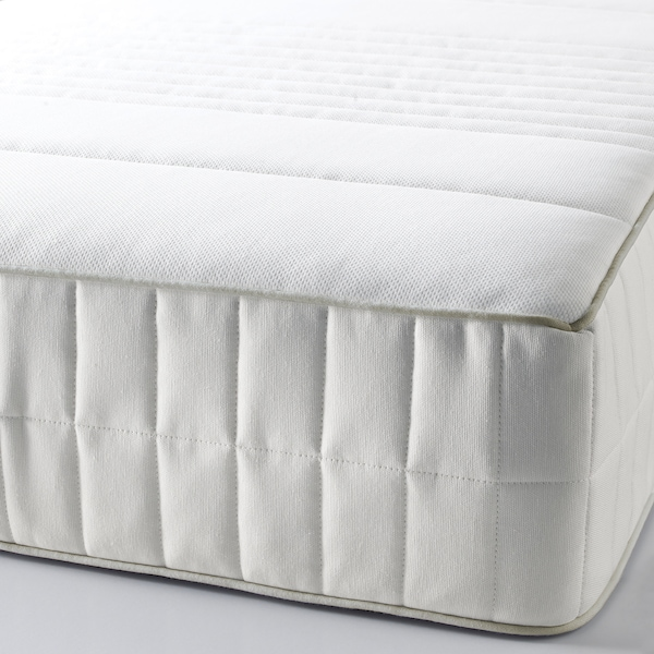 MYRBACKA Memory foam mattress, firm/white, Queen