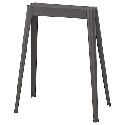 NÄRSPEL Trestle, dark gray metal