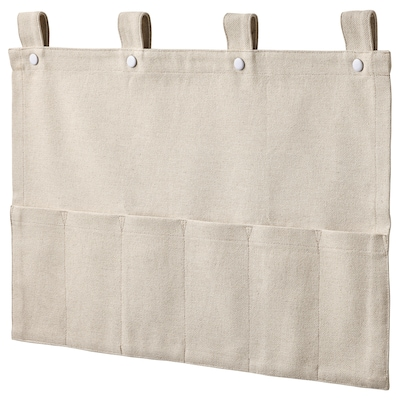 NEREBY Hanging organizer for accessories, natural