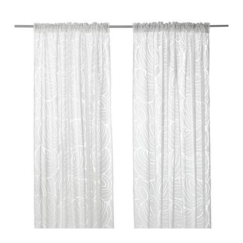 NORDIS Sheer Curtains, 1 Pair
