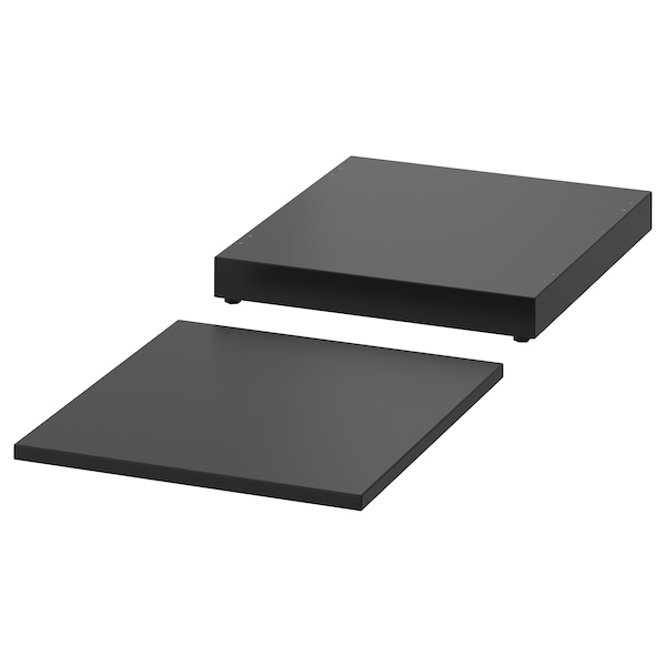 """NORDLI Top and base, anthracite, 15 3/4x18 1/2 """""""