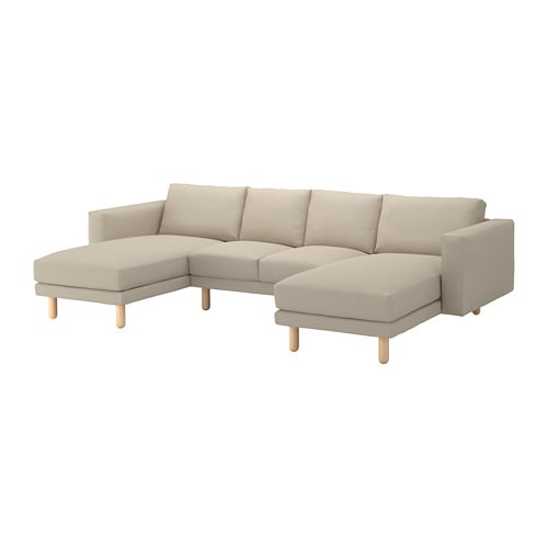 norsborg loveseat with 2 chaises edum beige birch ikea. Black Bedroom Furniture Sets. Home Design Ideas