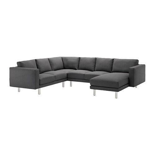 norsborg sectional 5 seat corner finnsta dark gray. Black Bedroom Furniture Sets. Home Design Ideas