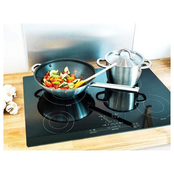 """NUTID 4 element induction cooktop black 30 3/8 """" 20 1/8 """" 2 1/2 """" 40 lb"""