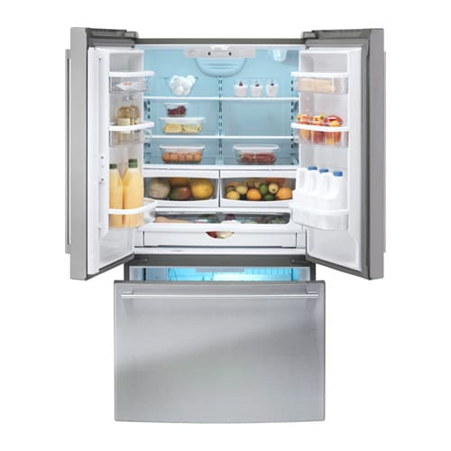 Ikea French Doors: NUTID French Door Refrigerator