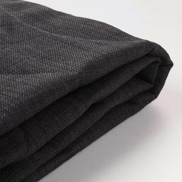 NYHAMN Cover for sofa-bed, Skiftebo anthracite