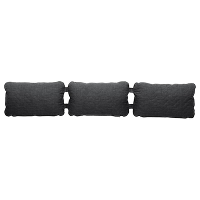 NYHAMN Triple cushion, Skiftebo anthracite