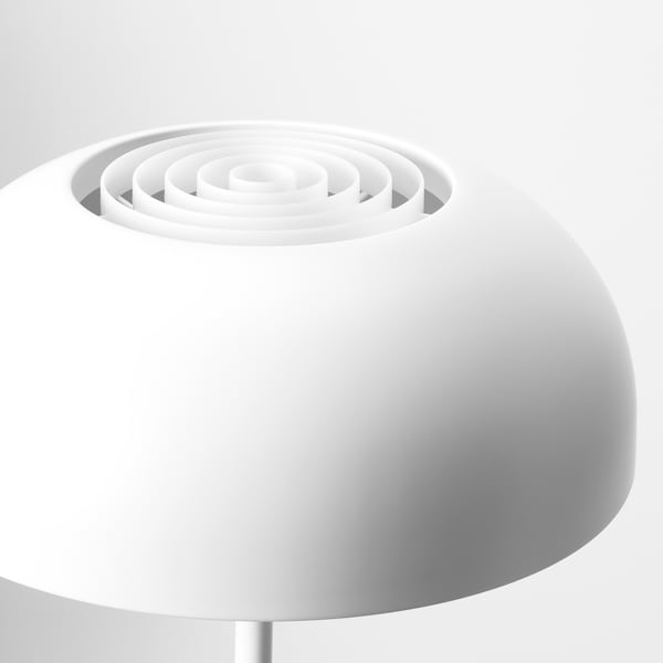 NYMÅNE Table lamp, white