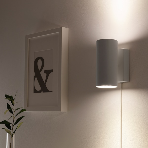 NYMÅNE Wall up/downlight, white