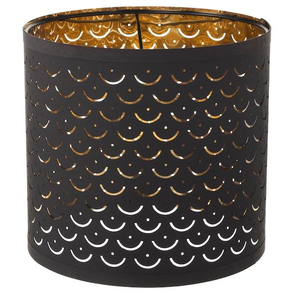 Nymo Lamp Shade Black Brass Color
