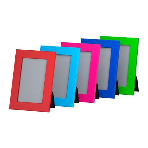 NYTTJA Frame   Front protection in durable plastic; makes the frame safer to use.