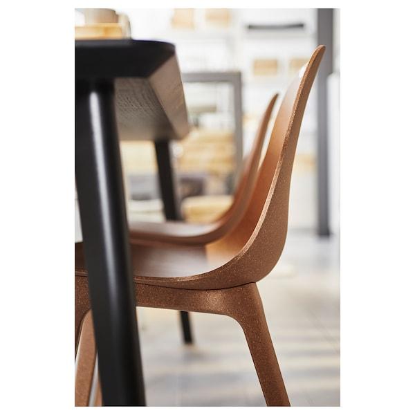 "ODGER chair brown 243 lb 17 3/4 "" 20 1/8 "" 31 7/8 "" 17 3/4 "" 16 1/8 "" 16 7/8 """