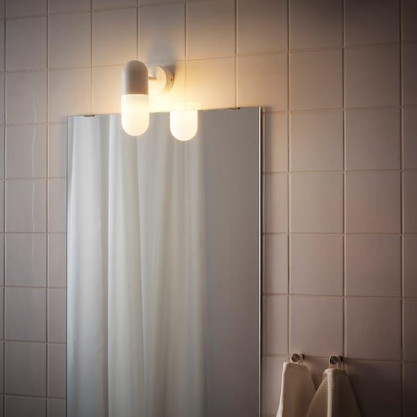 ÖSTANÅ Wall lamp, white
