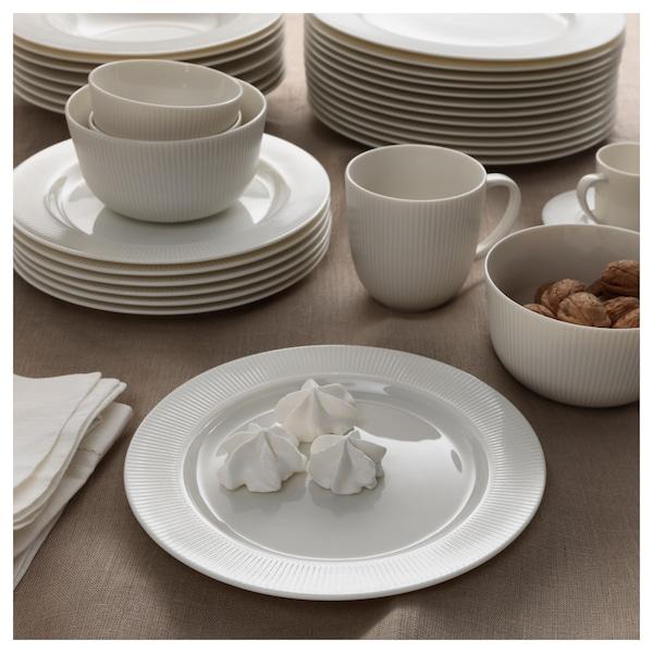 """OFANTLIGT Plate, white, 11 """""""