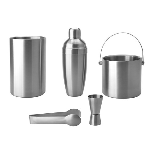OLEBY 5-piece bar set