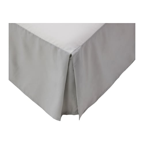 Oleby bedskirt twin ikea for Ikea sheets review