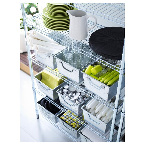 "OMAR 1 section shelving unit, 36 1/4x14 1/8x71 1/4 """
