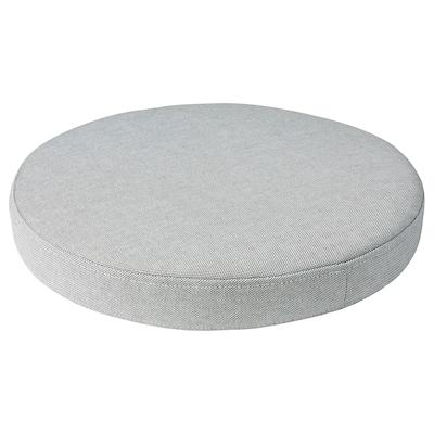 """OMTÄNKSAM Chair pad, Orrsta light gray, 15 """""""