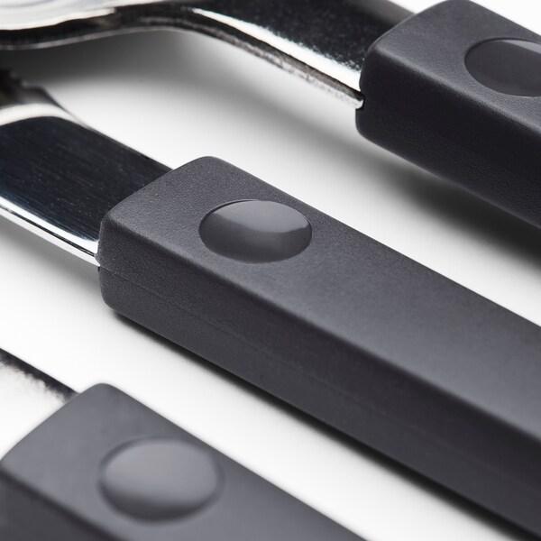 OSTRON 12-piece cutlery set gray