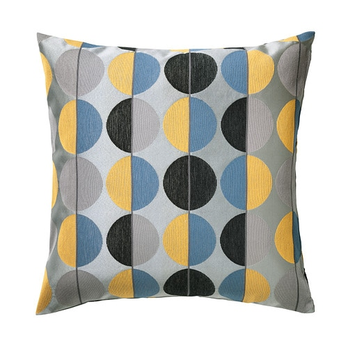 OTTIL Cushion cover   Jacquard weave gives the cushion cover a pattern with a subtle, slightly raised relief.