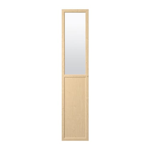 OXBERG Panel/glass door   Adjustable hinges allow you to adjust the door horizontally and vertically.