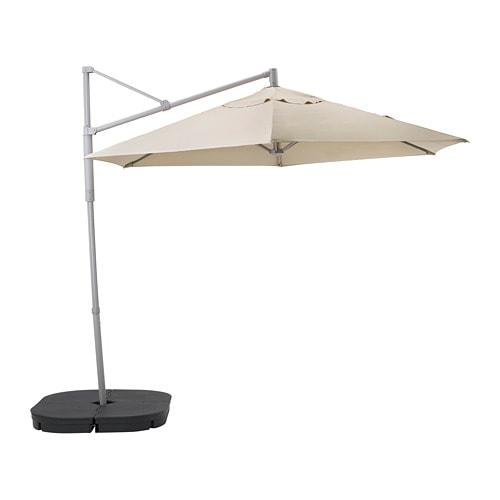 OxnÖ LindÖja Offset Patio Umbrella With Base