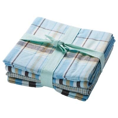 """PÄLSMAL Tea-towel, blue, 20x28 """""""