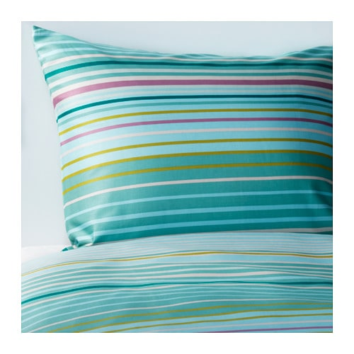PALMLILJA Duvet cover and pillowcase(s)