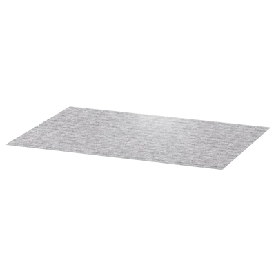 PASSARP Drawer mat, gray, 20x31 ""