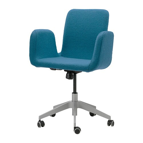 PATRIK Swivel chair   You sit comfortably since the chair is adjustable in height.